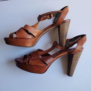Alberto Fermani Womens Size 38 High Heel Sandals